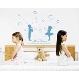 #BP011 Kids and Bubbles - Decal dán tường - 3