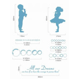 #BP011 Kids and Bubbles - Decal dán tường - 4
