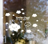 #BS011 Smile Cloud - Decal dán tường - 1