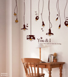 #DL014 I Love You - Decal dán tường - 1