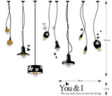 #DL014 I Love You - Decal dán tường - 2