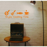 #DK020 Enjoy cooking Time - Decal dán tường - 4