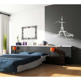 #FH004 The Sky Of Paris - Decal dán tường - 5