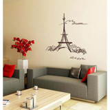 #FH004 The Sky Of Paris - Decal dán tường - 7