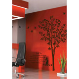 #NT023 Landscape with Trees - Decal dán tường - 1