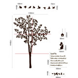 #NT023 Landscape with Trees - Decal dán tường - 2