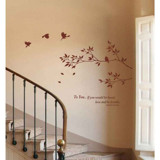 #NB009 Branches With Birds - Decal dán tường - 3