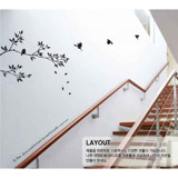 #NB009 Branches With Birds - Decal dán tường - 4
