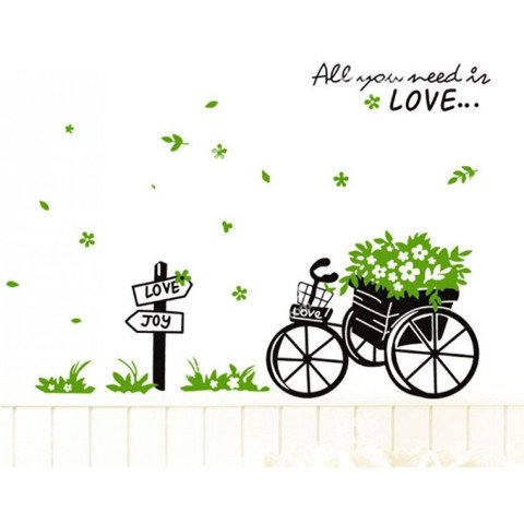 #NG039 All you need is Love - Decal dán tường - 1