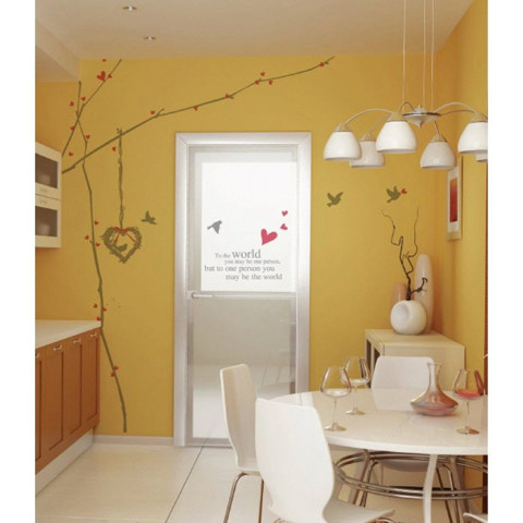 #NG005 Lovely Tree - Decal dán tường - 1