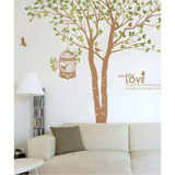 #NT004 Under tree - Decal dán tường - 3