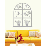 #DD007 Natural In Window - Decal dán tường - 3