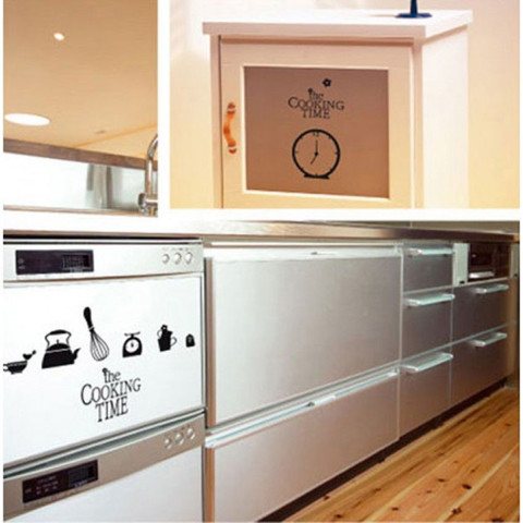 #DK006 Cooking Time - Decal dán tường - 1
