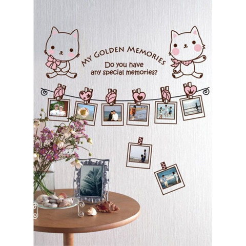 #FF012 My Golden memories - Decal dán tường - 1