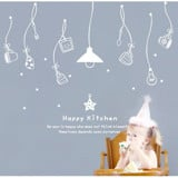 #DK026 Happy Kitchen - Decal dán tường - 3