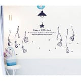 #DK026 Happy Kitchen - Decal dán tường - 4