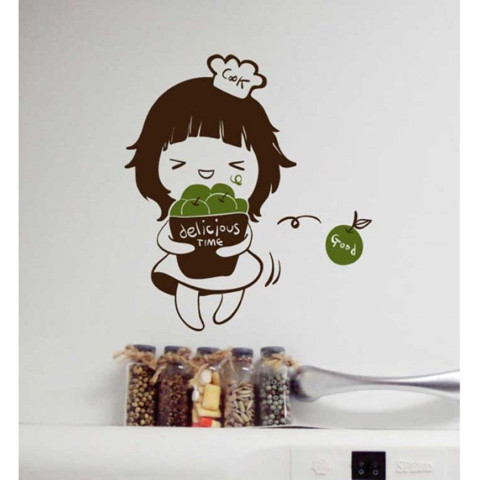 #DK025 Delicious - Decal dán tường - 1