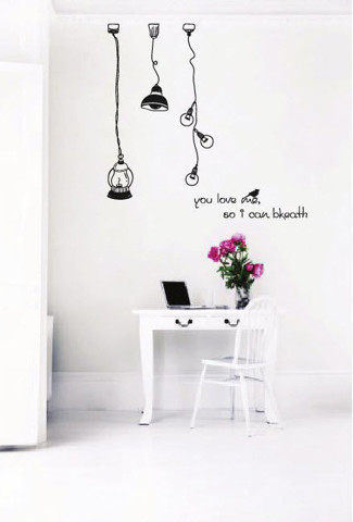 #DL004 You Love Me - Decal dán tường - 1
