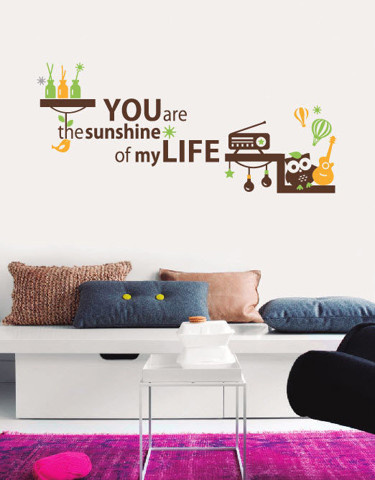 #DF010 You Are The Sunshine - Decal dán tường - 1