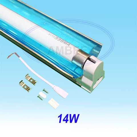 T5 Fluorescent Single Aluminum With Reflector 0.6M/14W