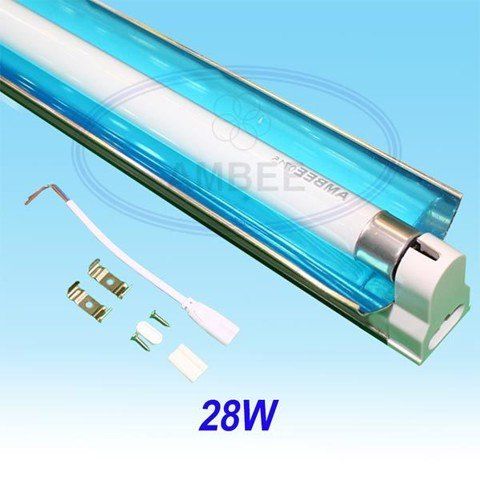 T5 Fluorescent Single Aluminum With Reflector 1.2M/28W