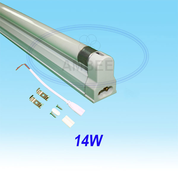 T5 Fluorescent Single Aluminum Without Reflector 0.6M/14W