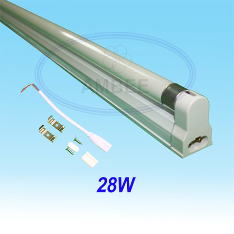T5 Fluorescent Single Aluminum Without Reflector 1.2M/28W