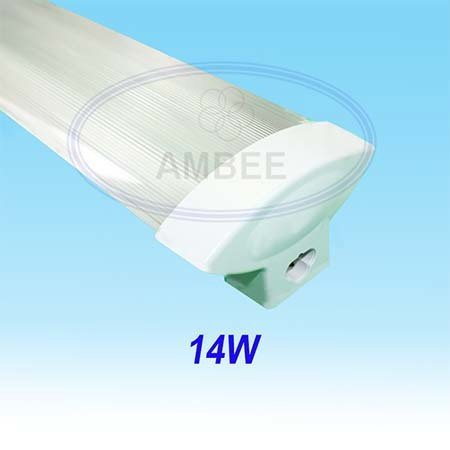 T5 Fluorescent Single Mica V Aluminum 0.6M/14W