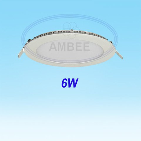 Ultra-thin LED Round Ceiling 6w