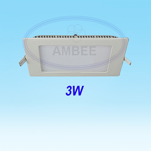 Ultra-thin LED Square Ceiling 3w