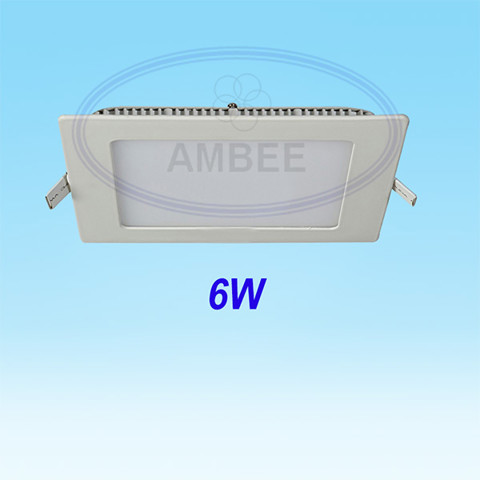 Ultra-thin LED Square Ceiling 6w