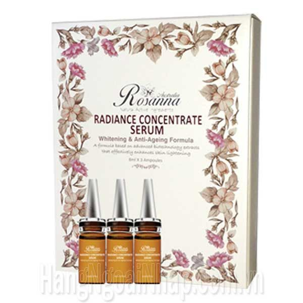 ROSANNA - RADIANCE CONCENTRATE SERUM 8ML X 3