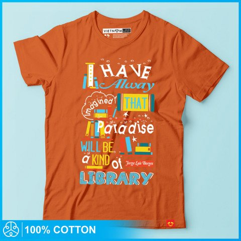 Paradise will be a kind of library