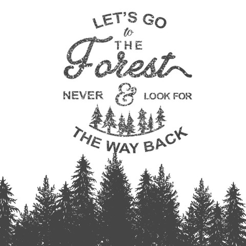 Let's go to the forest - Trắng