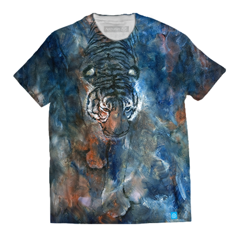 Tiger painting - Bích