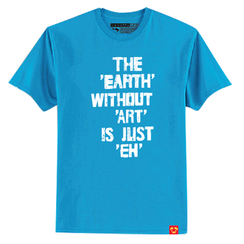 The earth with out art