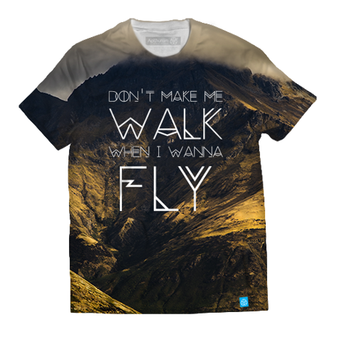 Dont make me walk when I wanna fly - Yellow