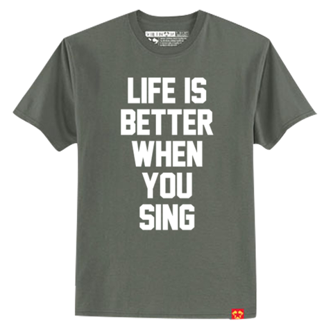 Life better when you sing