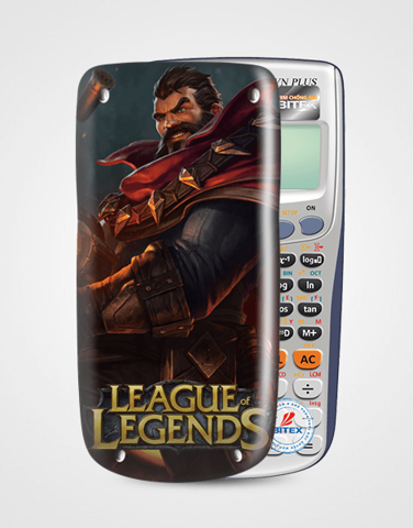 Nắp máy tính Casio League Of Legend 049
