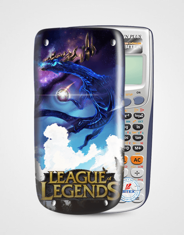 Nắp máy tính Casio League Of Legend 052