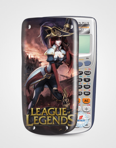 Nắp máy tính Casio League Of Legend 053