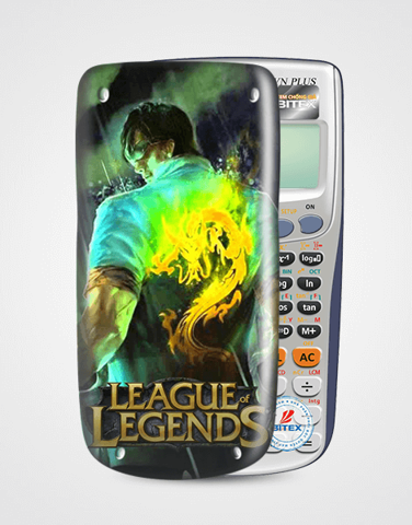 Nắp máy tính Casio League Of Legend 054