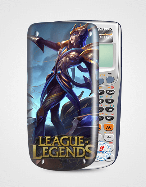 Nắp máy tính Casio League Of Legend 056