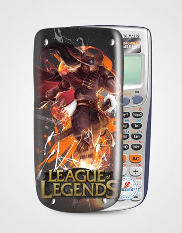 Nắp máy tính Casio League Of Legend 057
