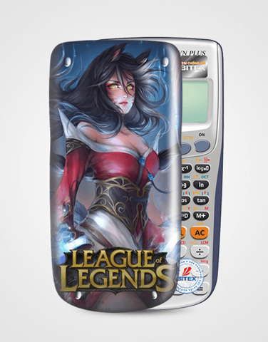 Nắp máy tính Casio League Of Legend 059