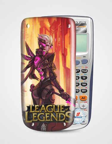 Nắp máy tính Casio League Of Legend 062