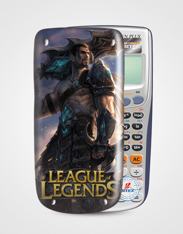 Nắp máy tính Casio League Of Legend 063
