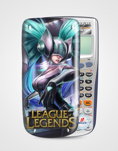 Nắp máy tính Casio League Of Legend 066