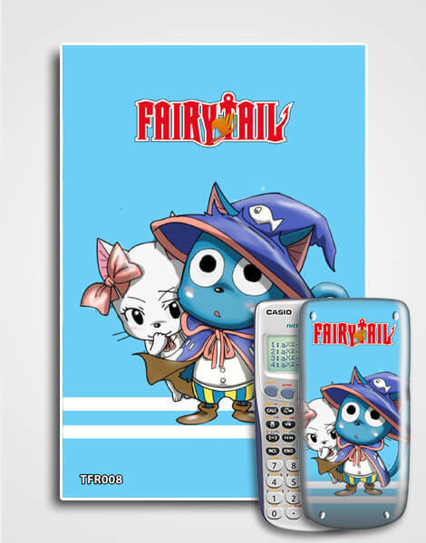 Decal máy tính Casio Fairy Tail 008