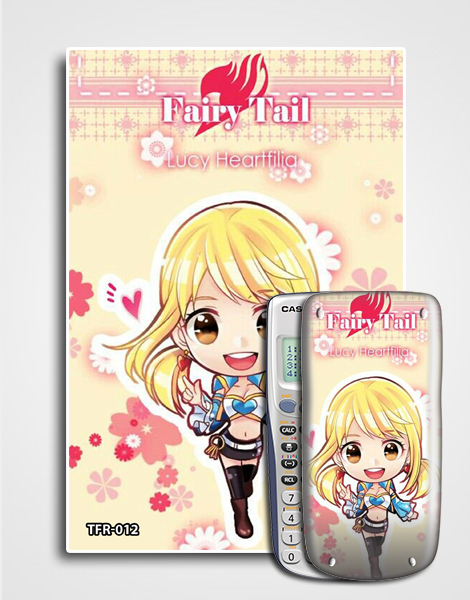 Decal máy tính Casio Fairy Tail 012